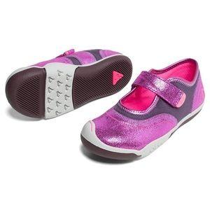 Plae Emme Metallic Raspberry Shoes 7.5